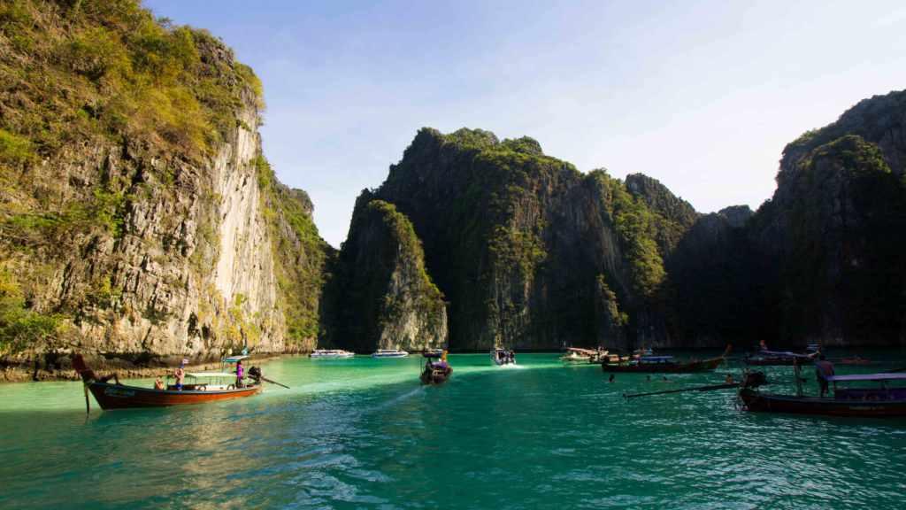 Lagoon Phi Phi Island