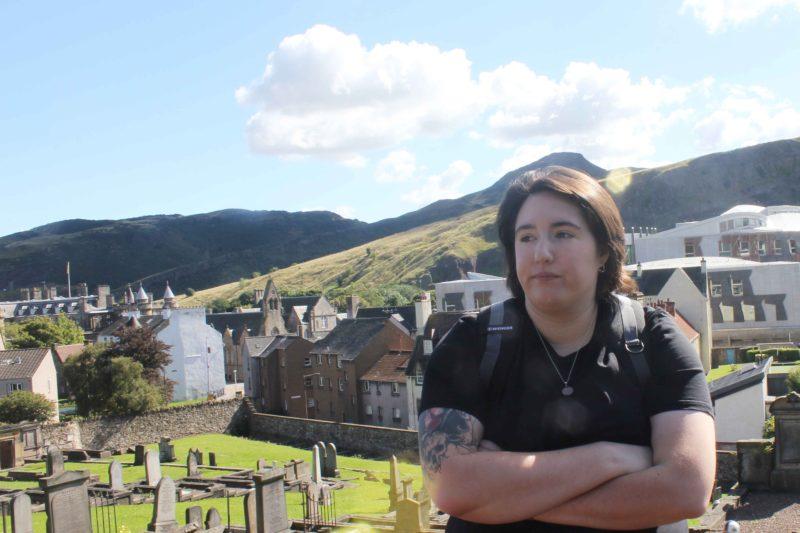 Jenna in Edinburgh