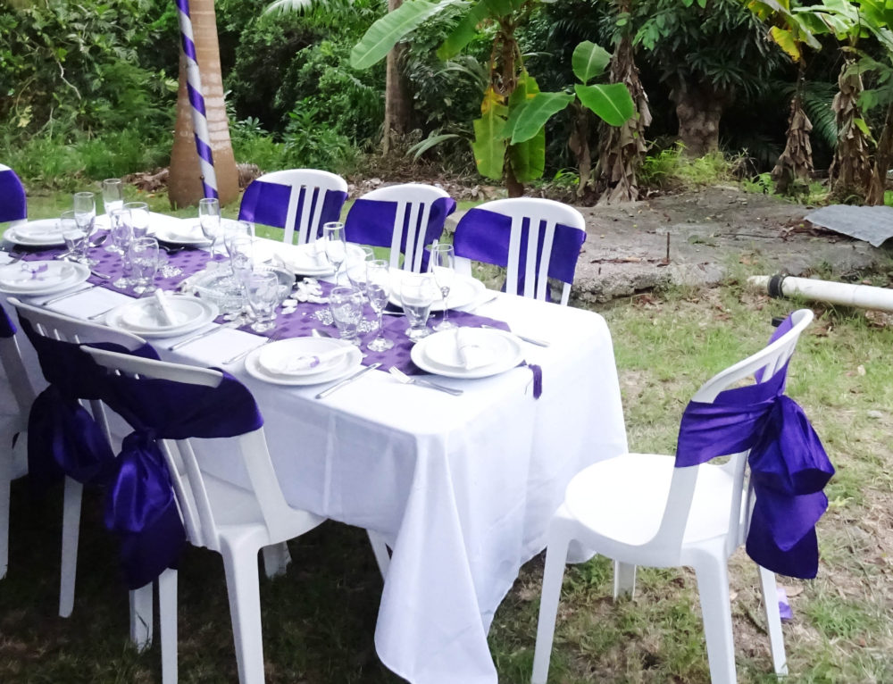 I went to a wedding in Barbados and it was jolly and hot and different