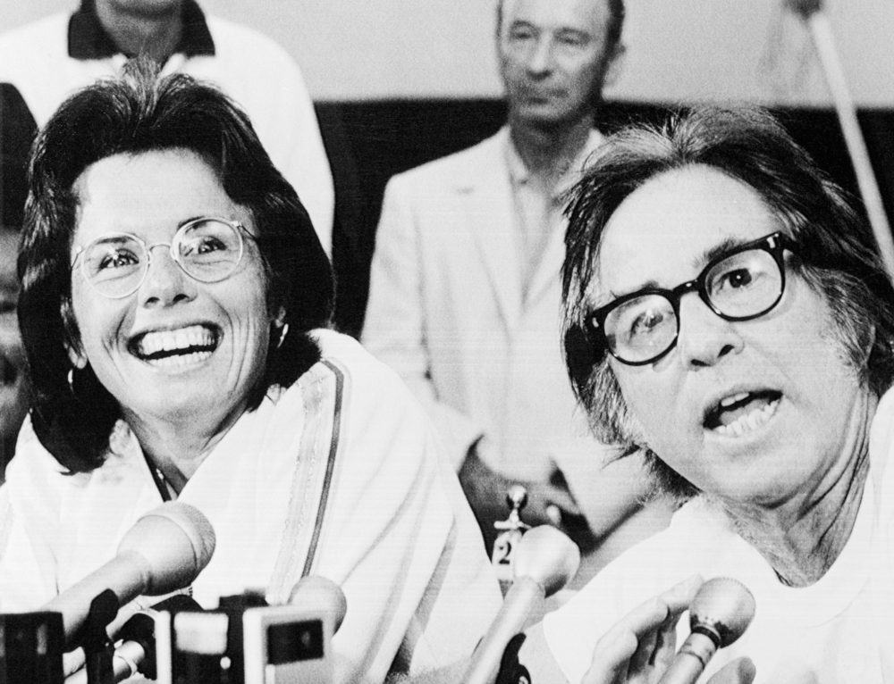 The battle of the sexes with Billie Jean King