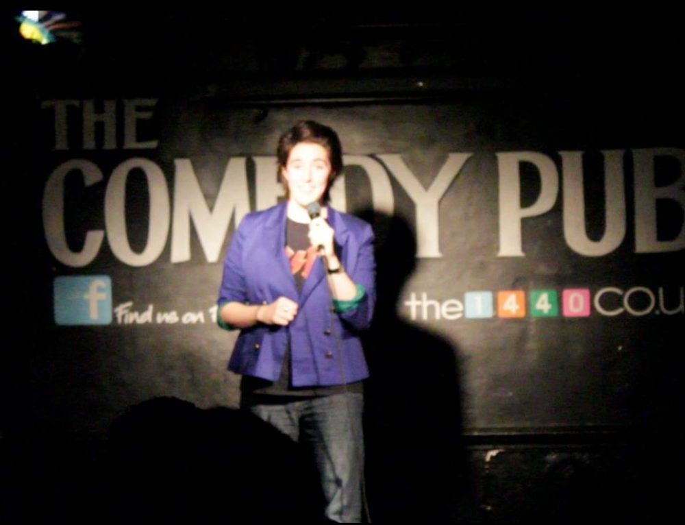 Being a lesbian stand up comedian