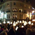 Brighton burning of the clocks