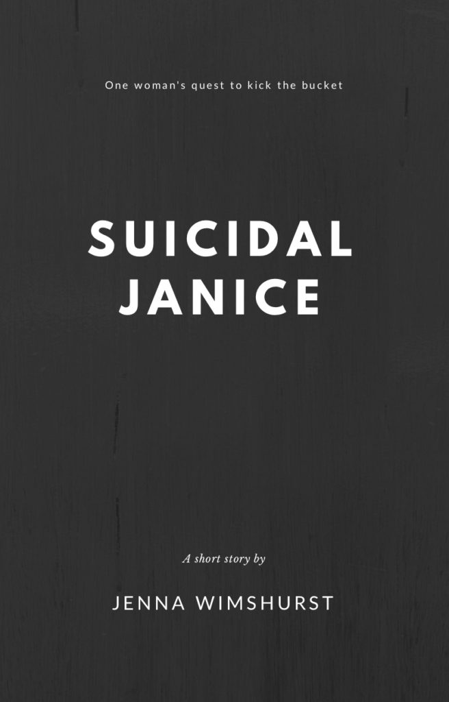 suicide comedy book