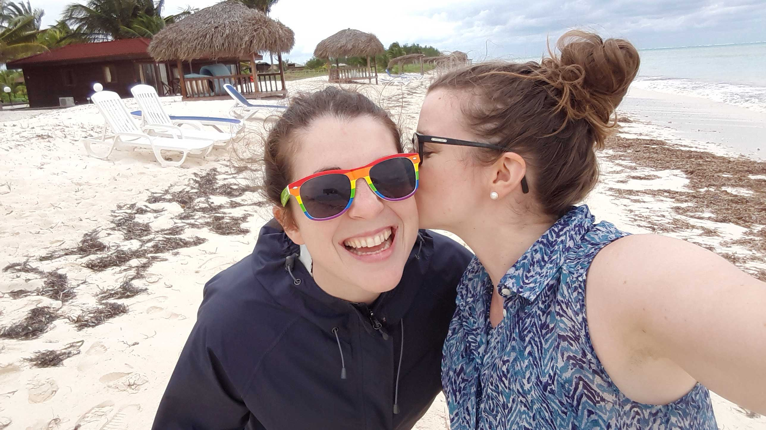 Lesbian Travel: Nearly Naked On Cayo Levisa