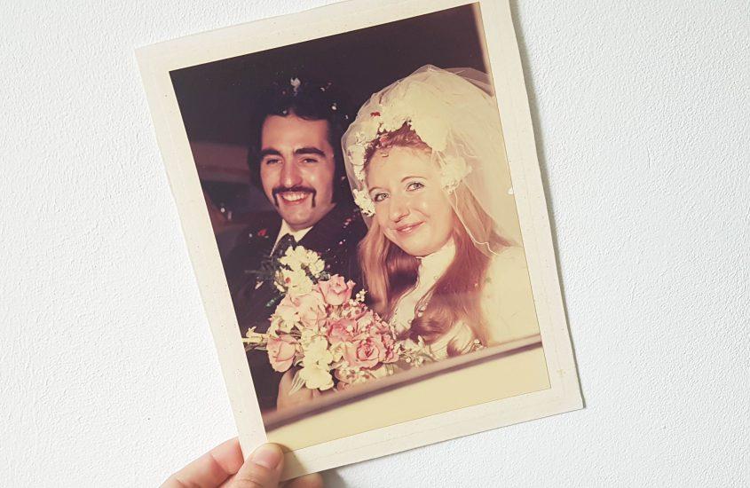 My parent's 45th wedding anniversary